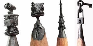 Arte su una mina di matita. Guardate le opre realizzate da questo ragazzo